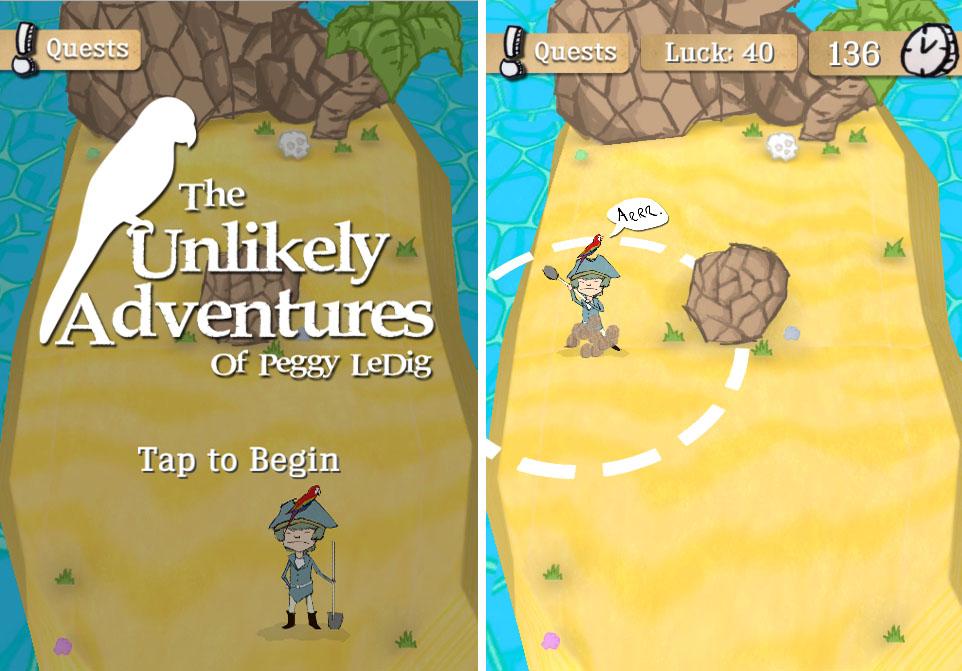 UnlikelyAdventuresOfPeggyLeDig by Rogue Snail